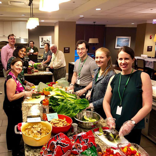 APCO Gives Back: Cooking up a Meal for Families at Ronald McDonald House